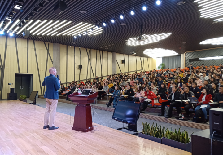 Public speaking in China