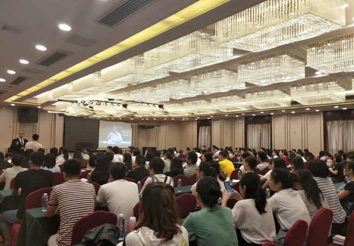 Engaging with audiences in Quanzhou, Fujian (August 2019)