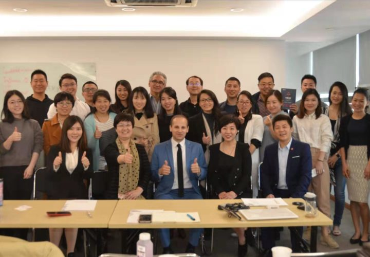 Lecturing at Jiaotong University in Shanghai (April 2014)