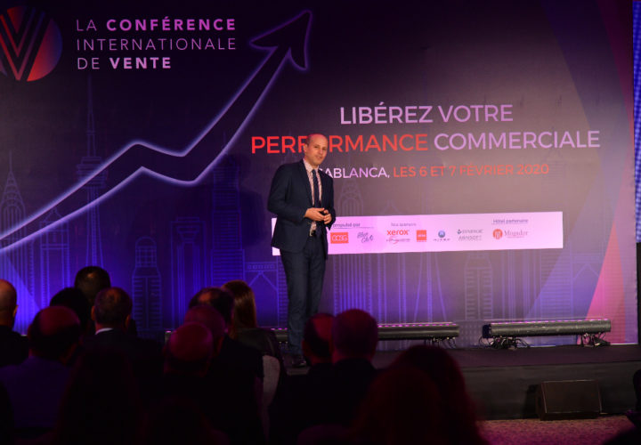 International Sales Conference at the Grand Mogador Casablanca. My topic: Principles of influence applied to sales (Feb. 2020)